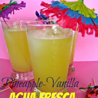 Pineapple Agua Fresca.