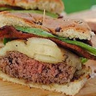 Grilled Bourbon Bacon Burgers