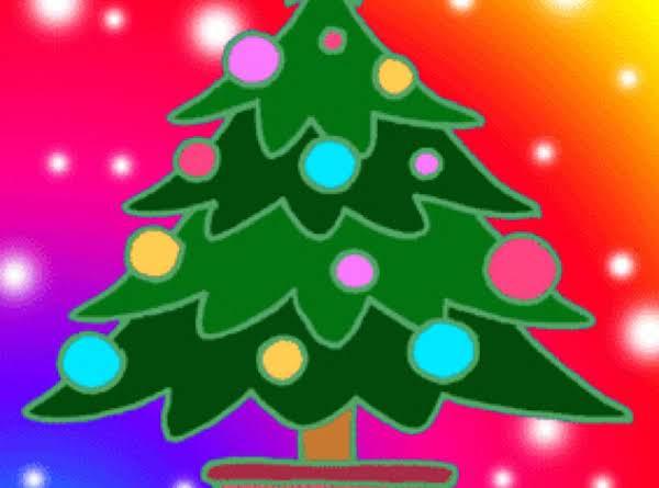 Marshmallow Popcorn Christmas Tree