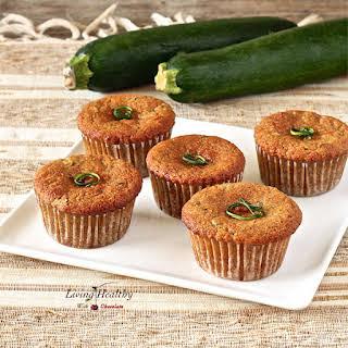Paleo Zucchini Muffins (Gluten/Grain/Dairy-free).