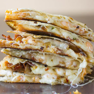Quesadillas with Shrimp and Bacon