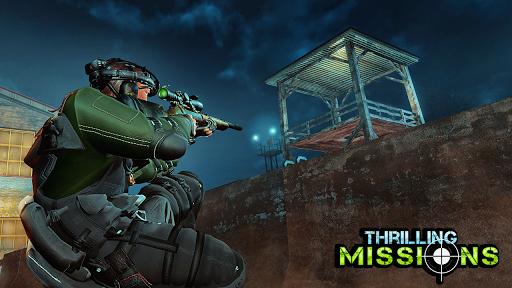 sniper 3d assassin - night vision shooting games screenshot 1