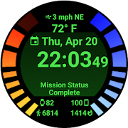 Omega Engine - Watch Face
