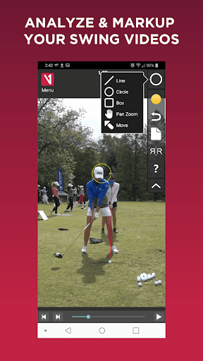 V1 Golf for Android  screenshot 2