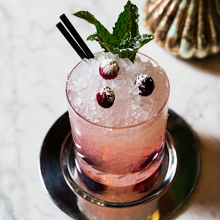 Cranberry Gin Cocktail.