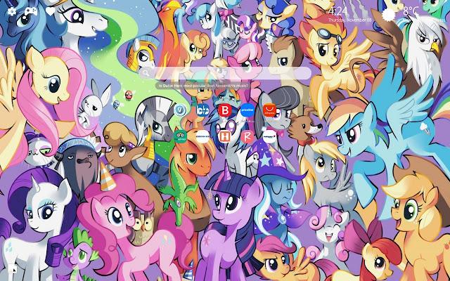 My Little Pony New Tab Wallpaper HD