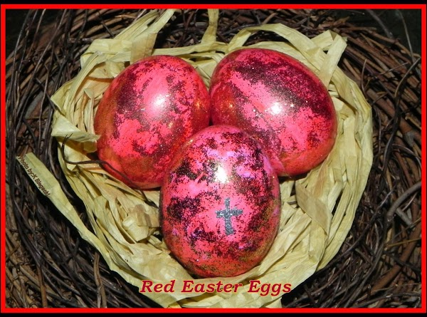 Red Easter Eggs Recipe