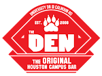 Logo for The Den Campus Pub