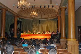 Photo: Los Bandidos de la Hoya en un programa especial desde el IES Ramón y Cajal de Huesca. Marzo 2013. Entrevistados: Alumnos/as y profesores del Centro.