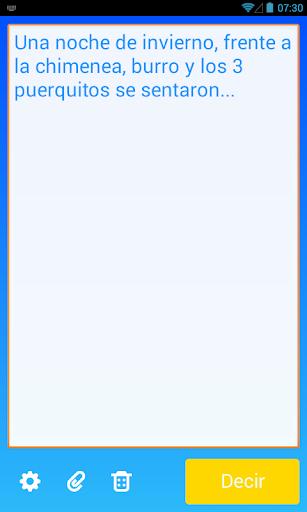 Speak - Text aloud TTS