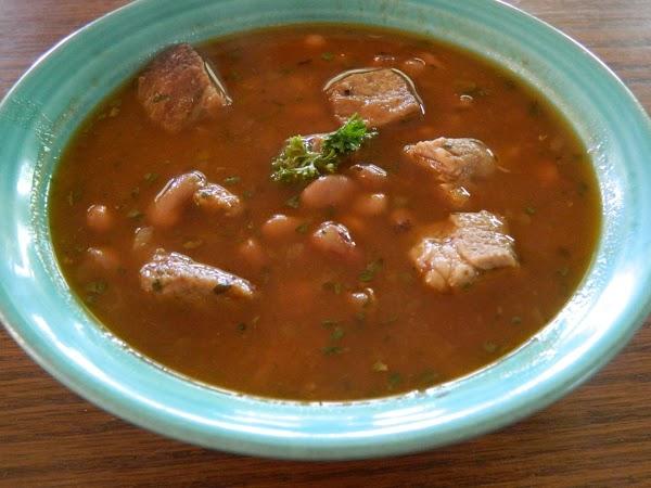 Pork And Pinto Bean Stew(crockpot) Recipe