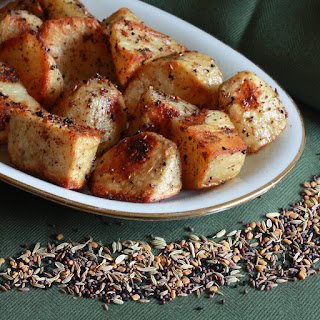 Panch Phoron Roasted Potatoes