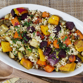 Roasted Veggie and Couscous Salad