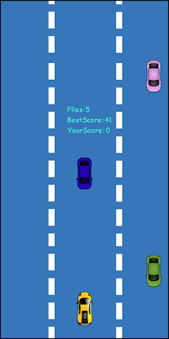 android Flying Car Screenshot 1