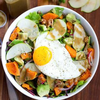 Fall Harvest Breakfast Salad