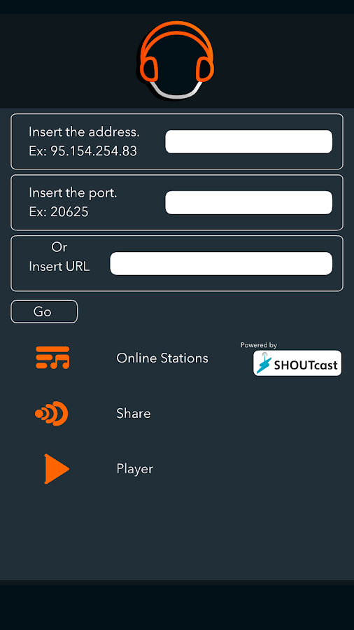 ShoutPlayer - Shoutcast Client- screenshot
