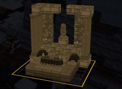 ビルダーズ2「女神像の祭壇の設計図」