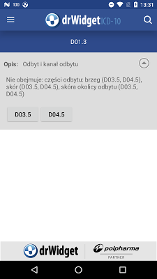 DrWidget ICD10 - screenshot