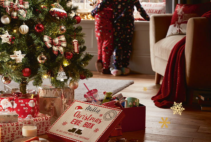 Deck the home with our range of Christmas decorations