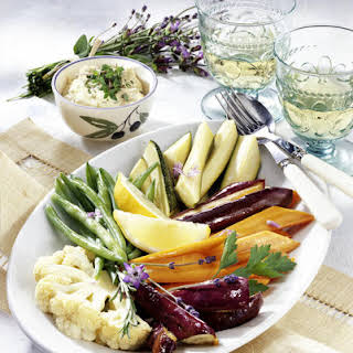 Vegetable Platter with Dip.