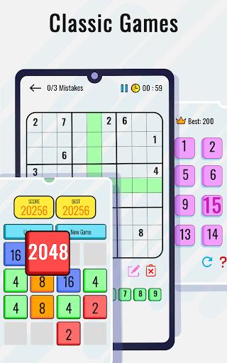 Math Puzzles game - Brain Training Math Games 🧠 screenshot 2