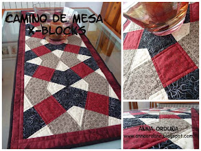 Photo: Camino de mesa X-BLOCKS