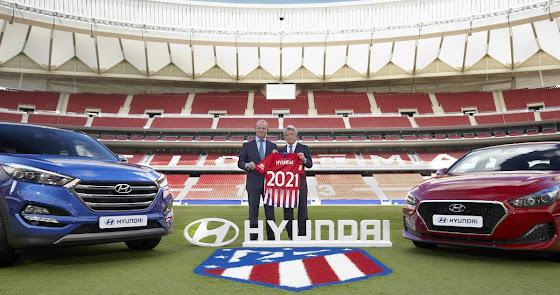 Hyundai Motor amplía su colaboración con el Atletico de Madrid, campeón de liga