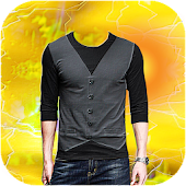 Men T Shirt Photo Editor Collage Maker Snap Camera