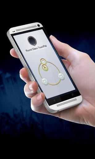 圓形玻璃 TouchPal
