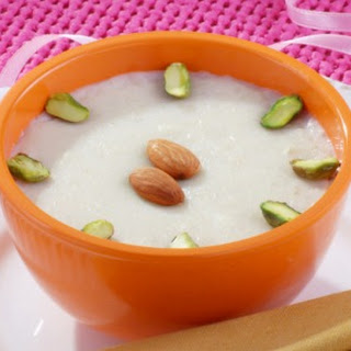 Coconut Milk Indian Pudding