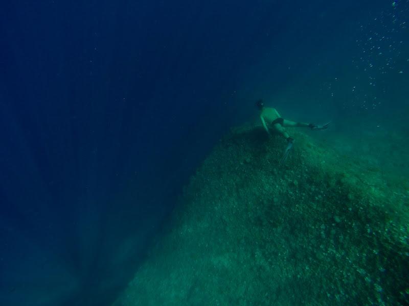 Fissando il grande blu di Sgheno