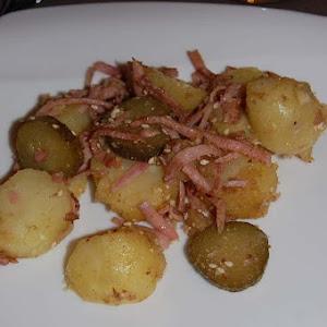 Dukkah Style Potato Salad