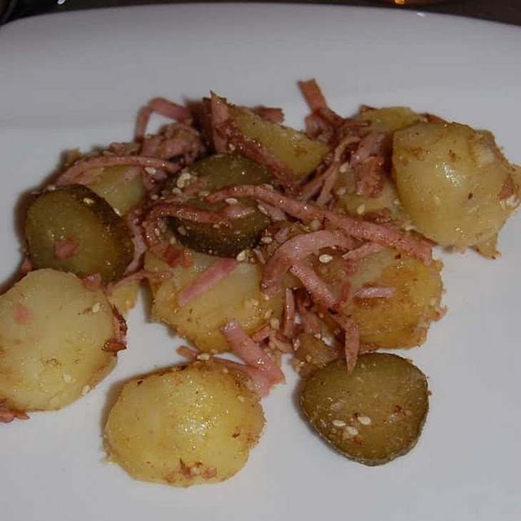 Dukkah Style Potato Salad Recipe