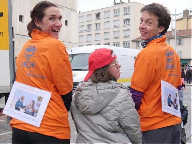 Sportifs solidaires de L'Arche à Lyon !