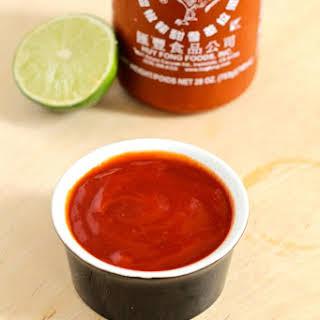 Lime Sriracha Ketchup.