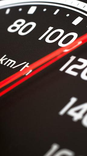 Speedometer.Black wallpaper