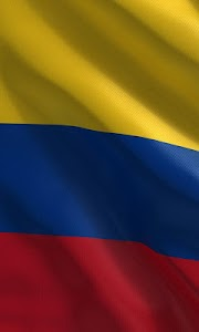 colombian flag wallpaper screenshot 0