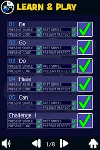 Verb Smash - English Tenses - Basic ESL Grammar- screenshot thumbnail