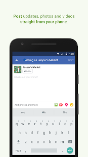 Facebook Pages Manager- screenshot thumbnail