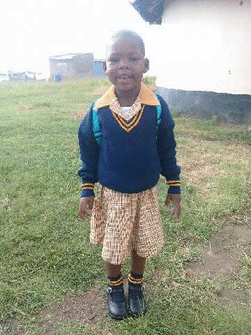 Little Lumka Mkhethwa, 5, of Bizana died in the broken pit latrine of her school.