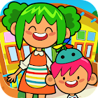 Pretend Preschool - Kids School Learning Games icon