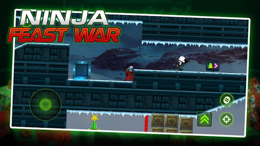 Ninja Toy Shooter - Ninja Go Feast Wars Warrior 1.0 screenshots 2