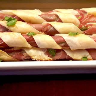 Crispy Prosciutto Asparagus Spears.