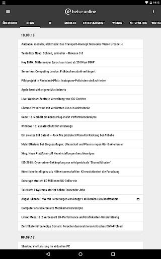 heise online - News 3.4.2 screenshots 11