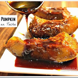 Candied Pumpkin / Calabaza en Tacha