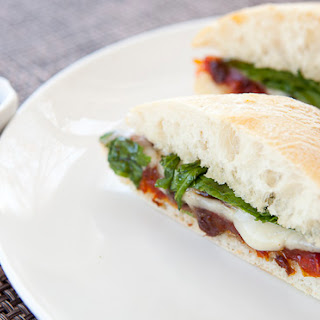 Tomato Chutney and Brie Sandwich