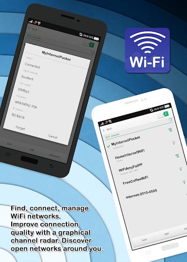Administrador de analizador WIFI gratuito. screenshot