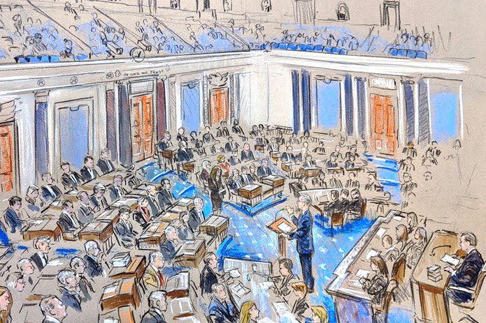 Sketching Impeachment