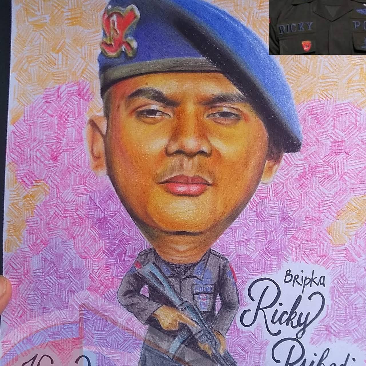 Sketsa Wajah Bandung Chim Art Galeri Seni