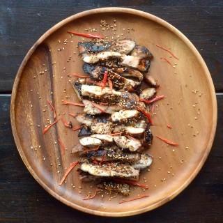 5-Ingredient Juicy Thai Style Chicken.